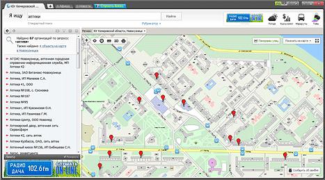 Карта Красноярска с адресами — ГИС 4geo
